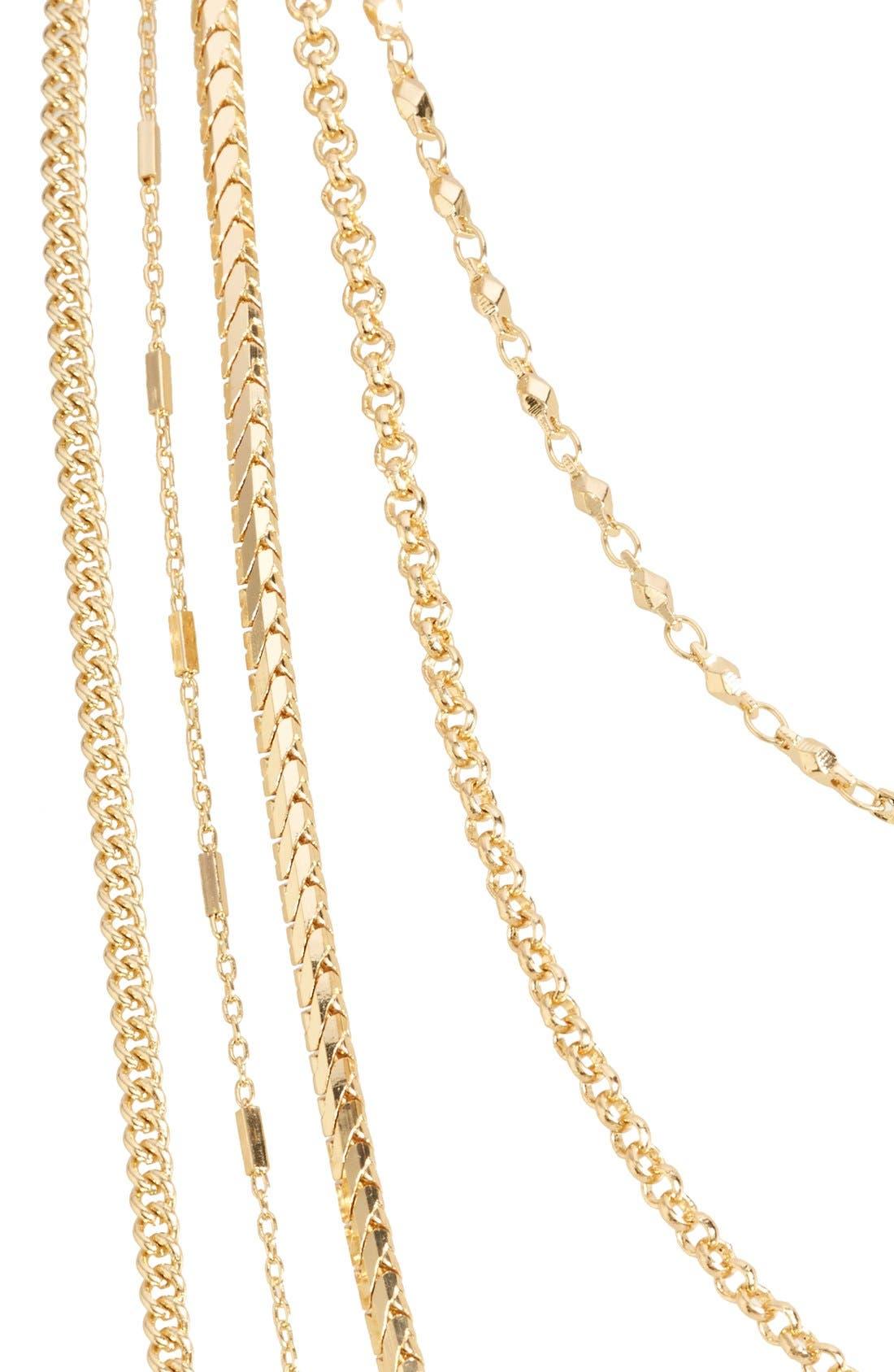 Alternate Image 2  - Nordstrom Long Multistrand Necklace