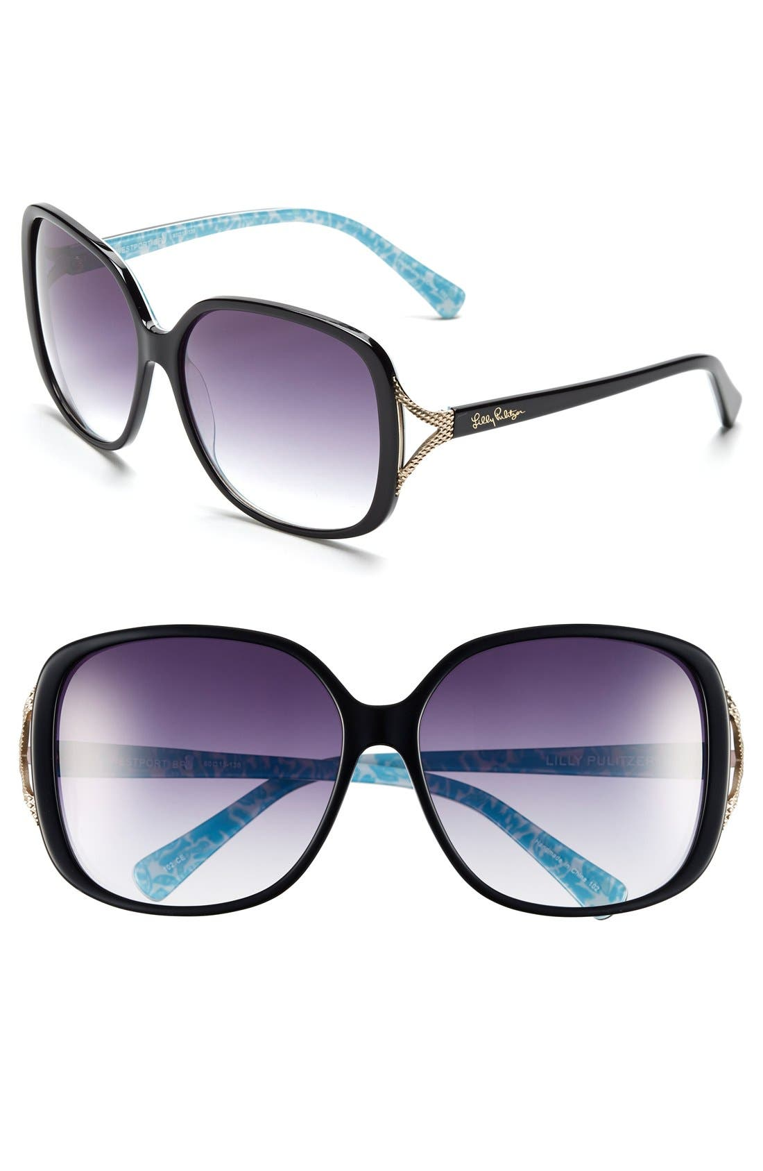 Alternate Image 1 Selected - Lilly Pulitzer® 'Westport' 60mm Sunglasses