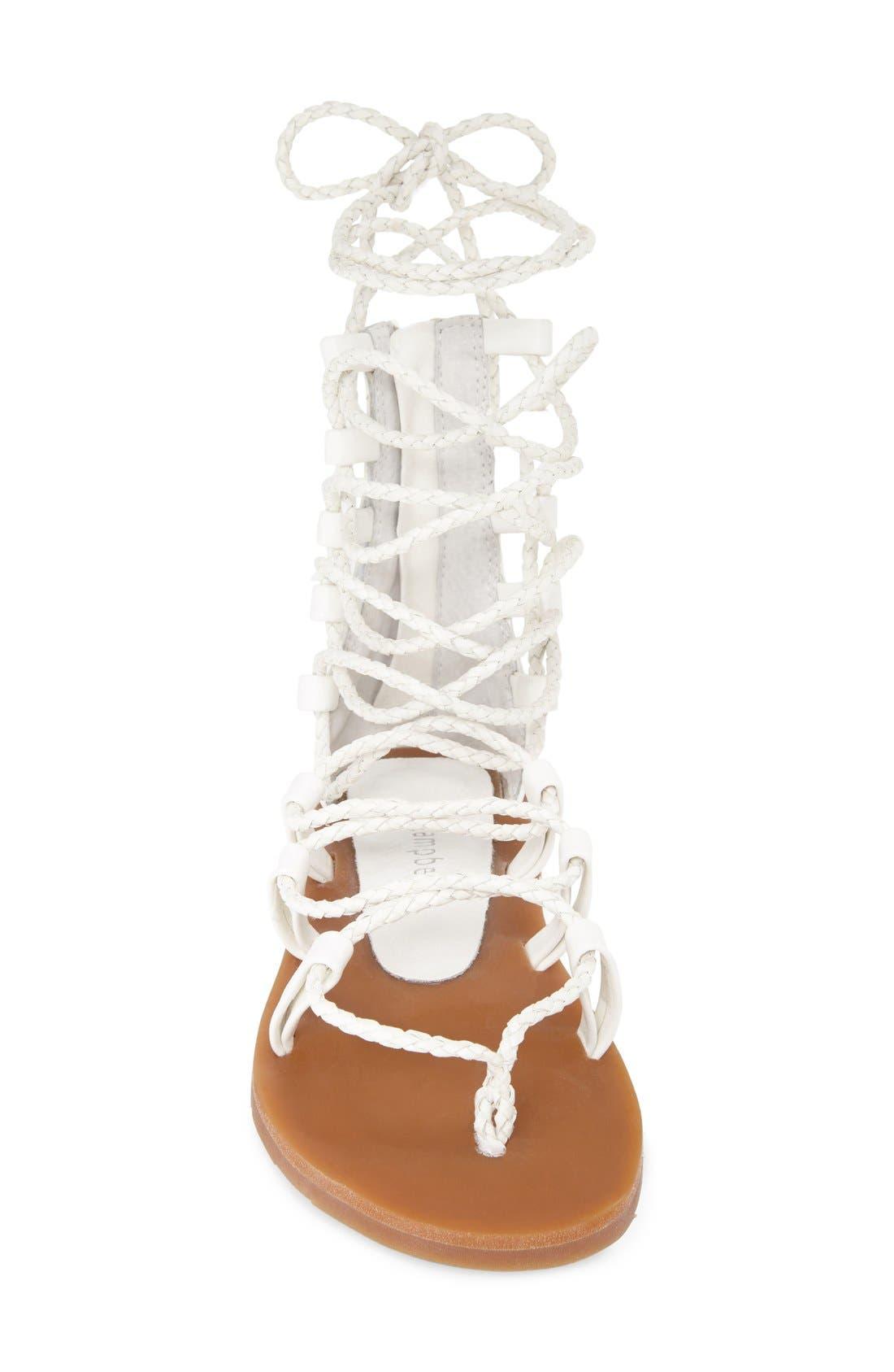 Alternate Image 3  - Jeffrey Campbell 'Hola' Lace-Up Gladiator Sandal (Women)