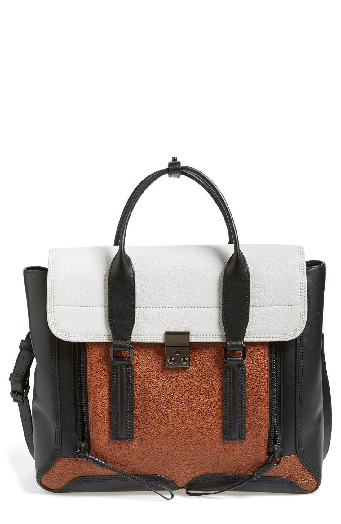 Alternate Image 1 Selected - 3.1 Phillip Lim 'Large Pashli' Leather Satchel