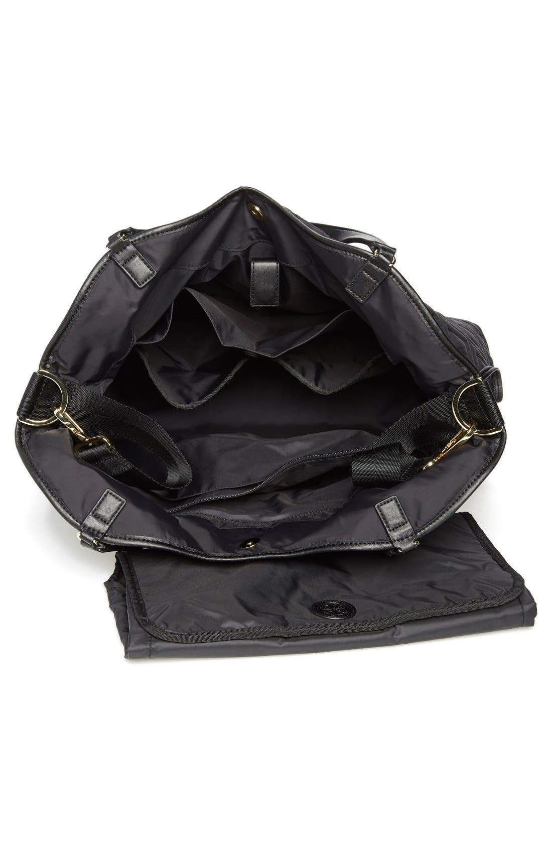 Alternate Image 4  - Tory Burch Quilted Slouchy Baby Bag
