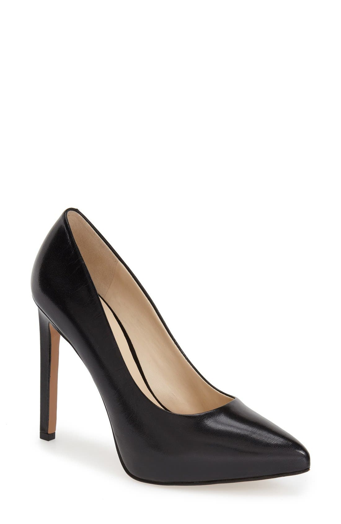 Alternate Image 1 Selected - Nine West 'Leap a Faith' Pointy Toe Pump (Women)