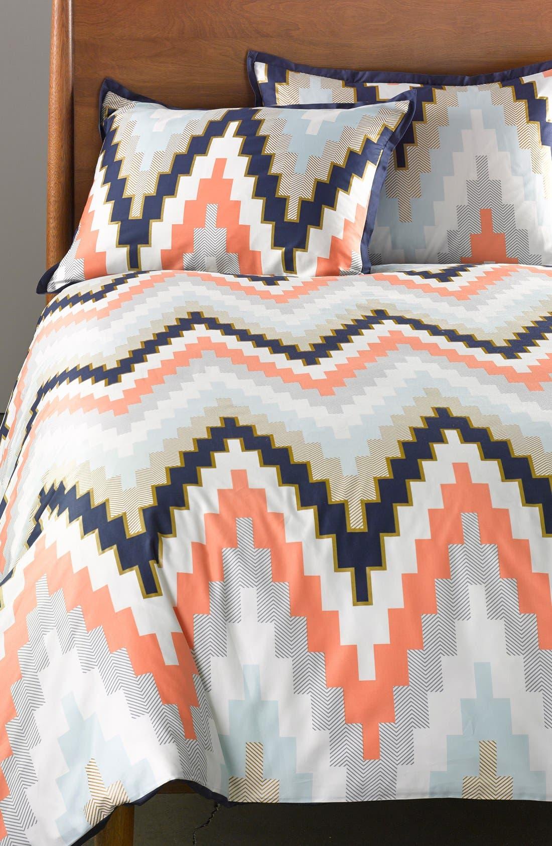 Alternate Image 2  - Blissliving Home Harper Reversible Duvet Cover & Sham Set