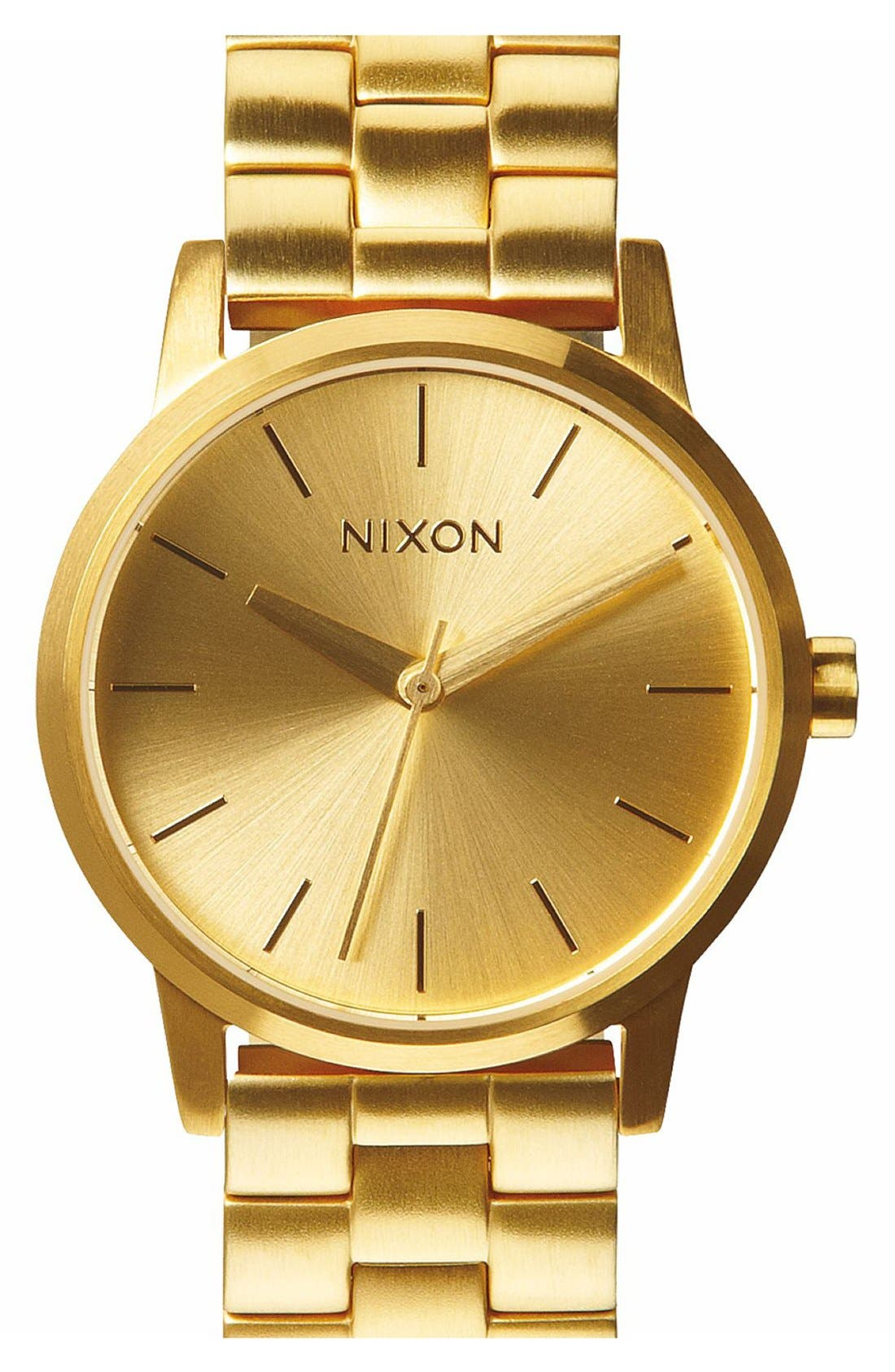 Alternate Image 1 Selected - Nixon 'The Small Kensington' Bracelet Watch, 30mm