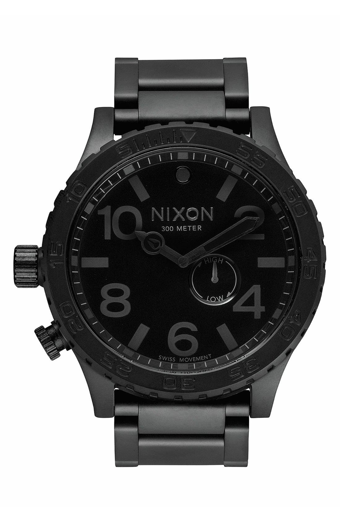 Alternate Image 1 Selected - Nixon 'The 51-30' Bracelet Watch, 51mm
