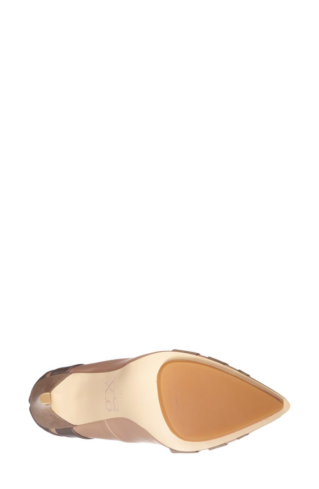 Alternate Image 4  - gx by Gwen Stefani 'Cage' Pointy Toe Pump (Women)
