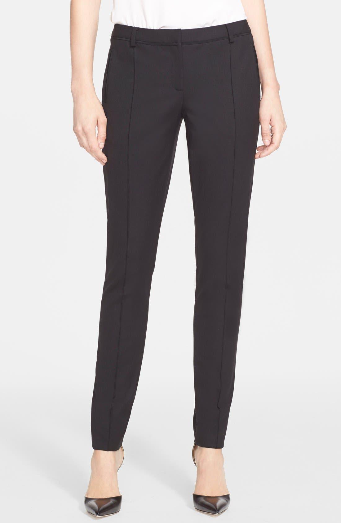 Alternate Image 1 Selected - Jason Wu Stretch Gabardine Crop Pants