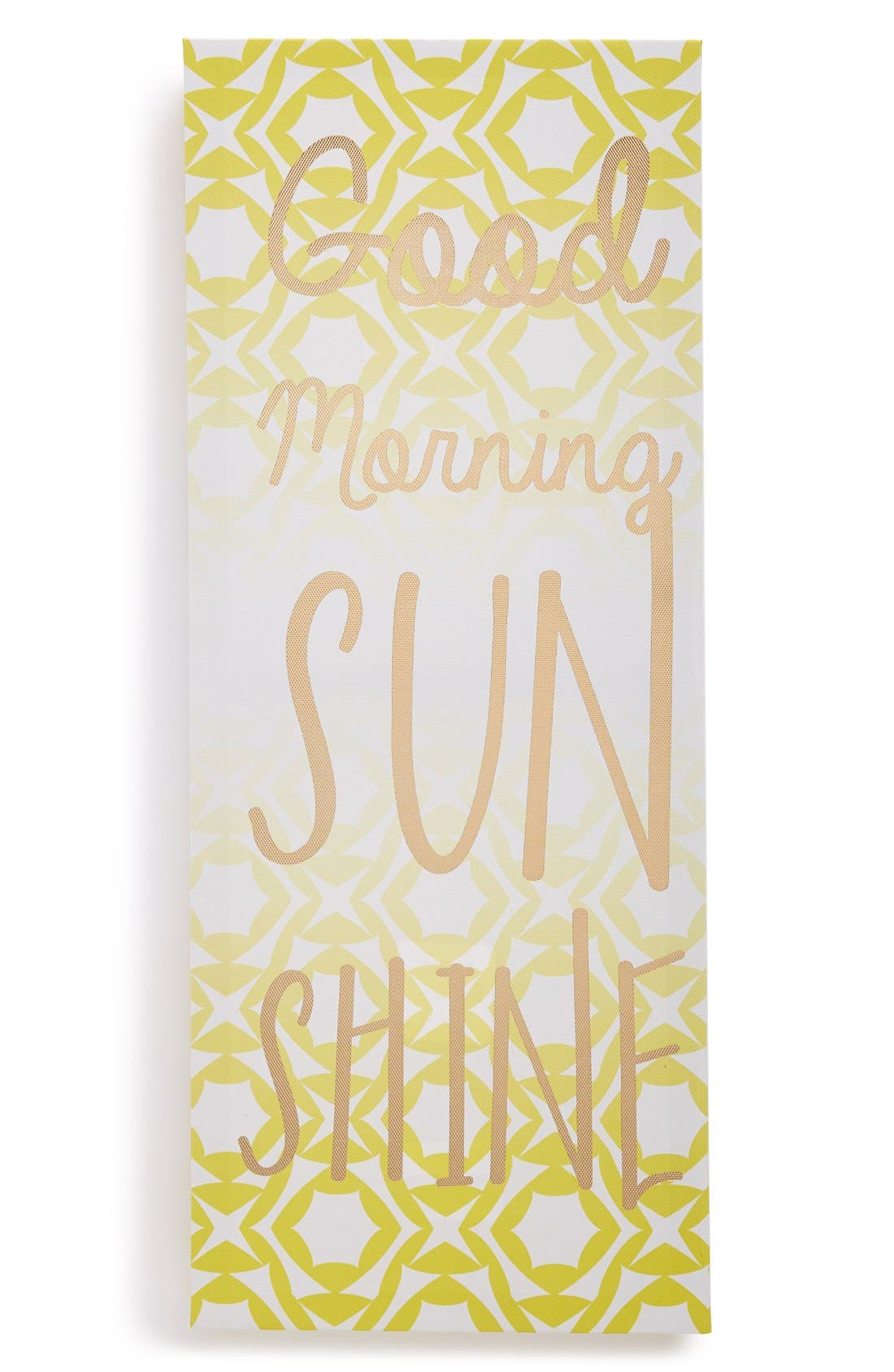 Alternate Image 1 Selected - Crystal Art Gallery 'Good Morning Sunshine' Wrapped Canvas Wall Art