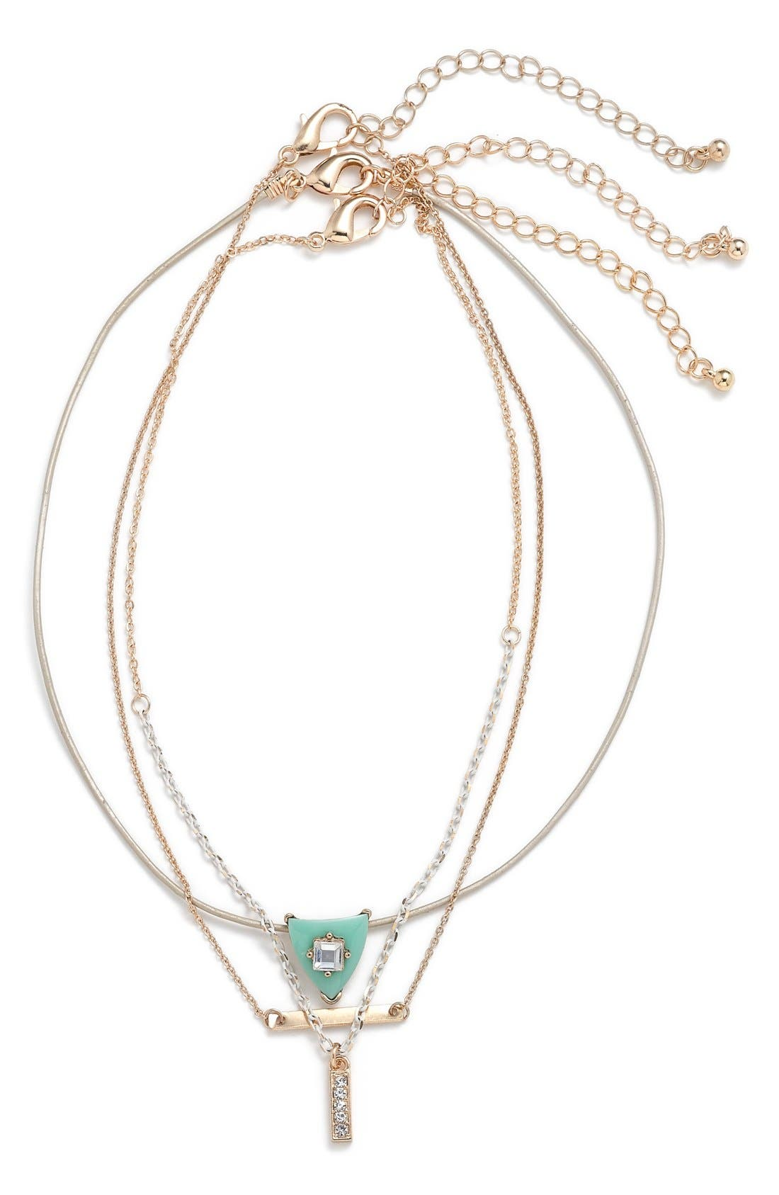 Alternate Image 1 Selected - BP. Choker Necklace (Set of 3)