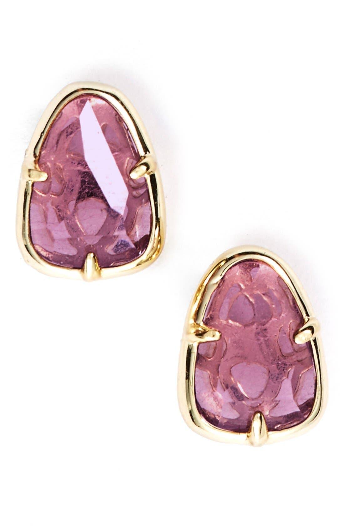 Alternate Image 1 Selected - Kendra Scott 'Hazel' Stone Stud Earrings
