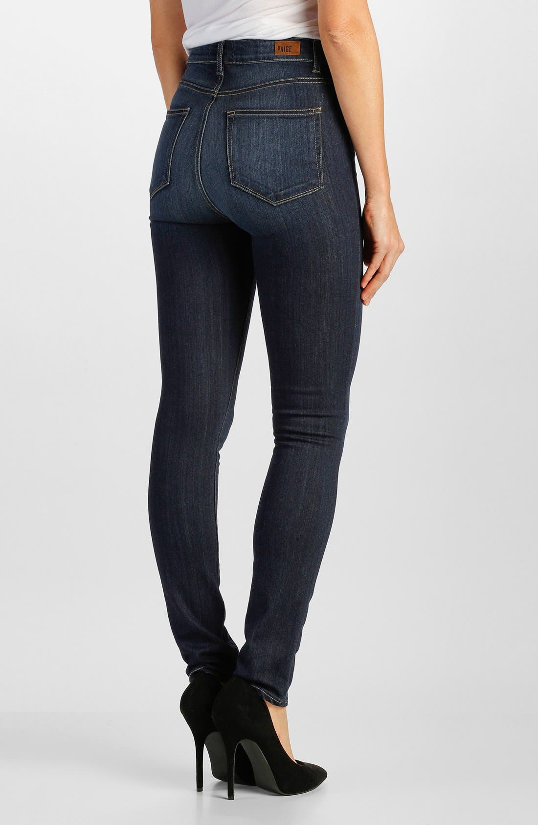 Alternate Image 2  - Paige Denim 'Margot' High Rise Ultra Skinny Jeans (Alanis)