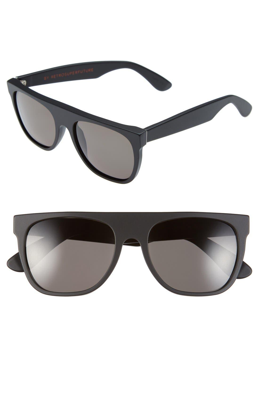 Main Image - SUPER by RETROSUPERFUTURE® 'Flat Top' 55mm Retro Sunglasses