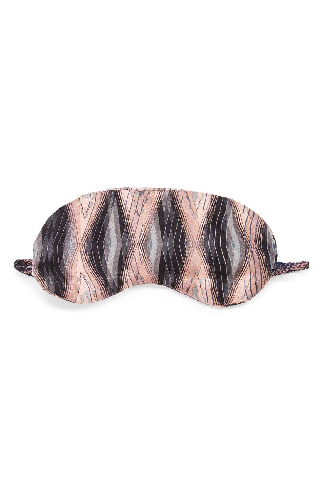 Alternate Image 1 Selected - Asceno by Beautiful Bottoms Silk Sleep Mask