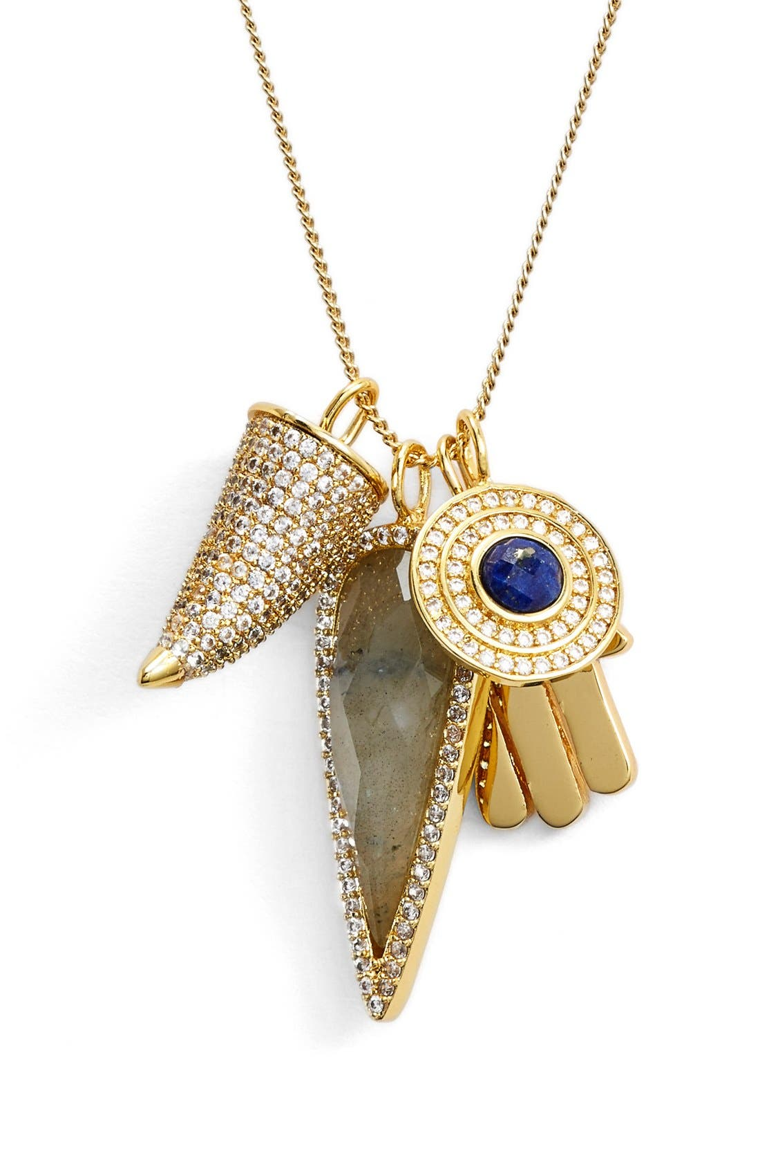 Alternate Image 1 Selected - Melanie Auld'Protection' Charm Necklace