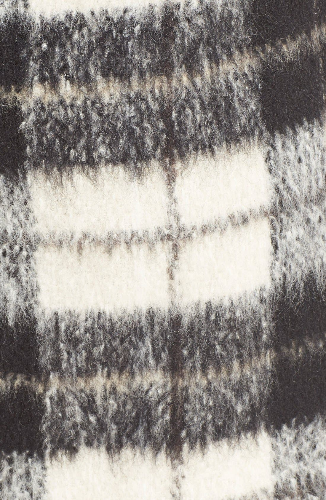 Alternate Image 4  - kate spade new york 'woodland check' plaid miniskirt