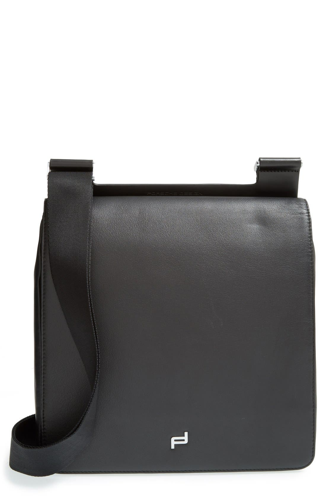 PORSCHE DESIGN 'Shyrt' Leather City Bag