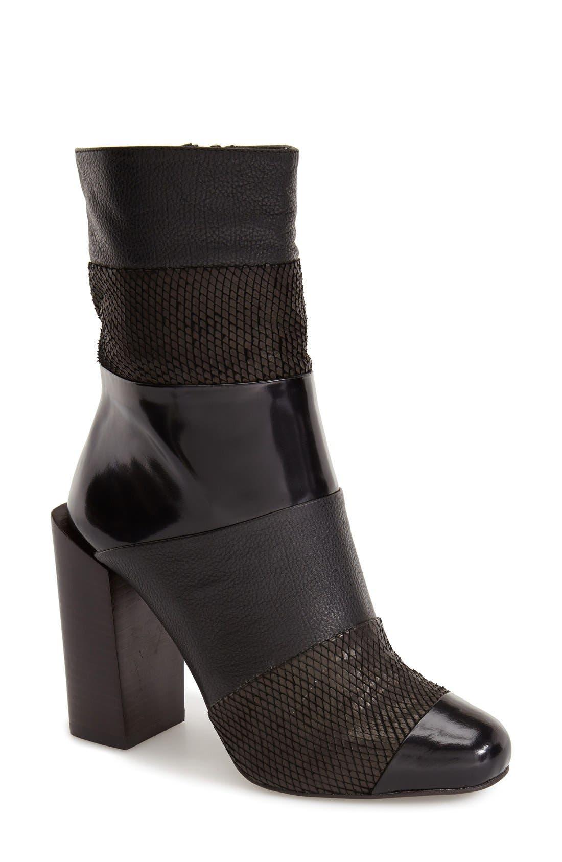 Alternate Image 1 Selected - Jeffrey Campbell 'Pezzi' Almond Toe Boot (Women)