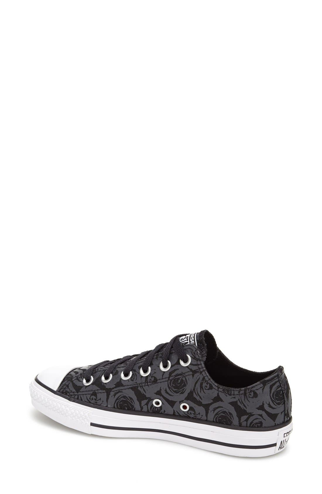 Alternate Image 3  - Converse Chuck Taylor® All Star® 'Ox - Rose Print' Low Top Sneaker (Women)