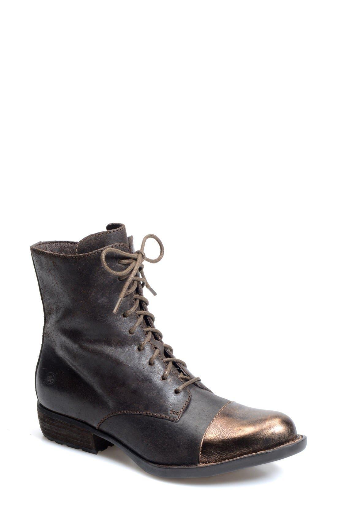 Alternate Image 1 Selected - Børn 'Lookis' Cap Toe Boot (Women)