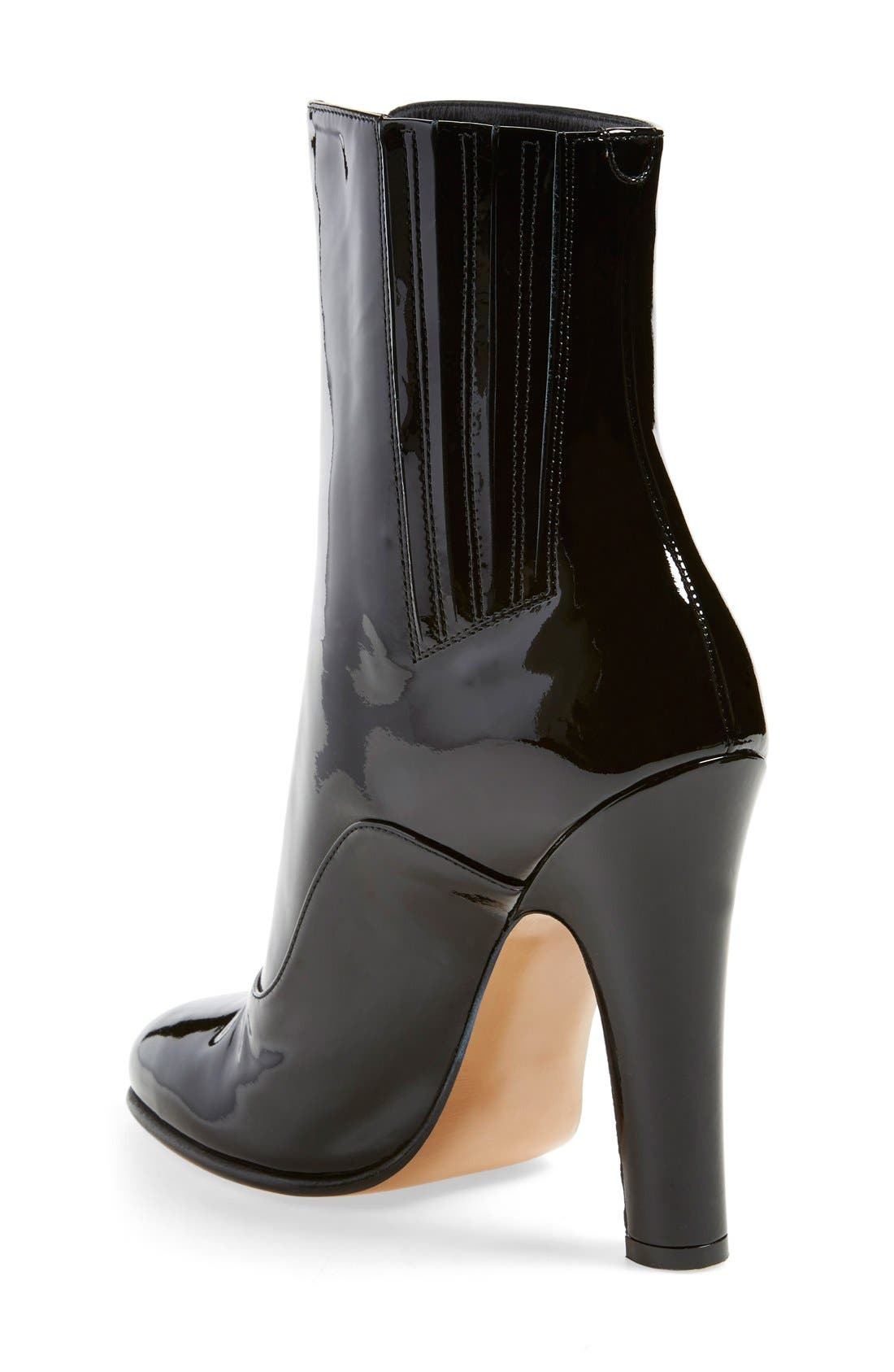 Alternate Image 2  - Valentino 'Rebelle' Round Toe Zip Bootie (Women)