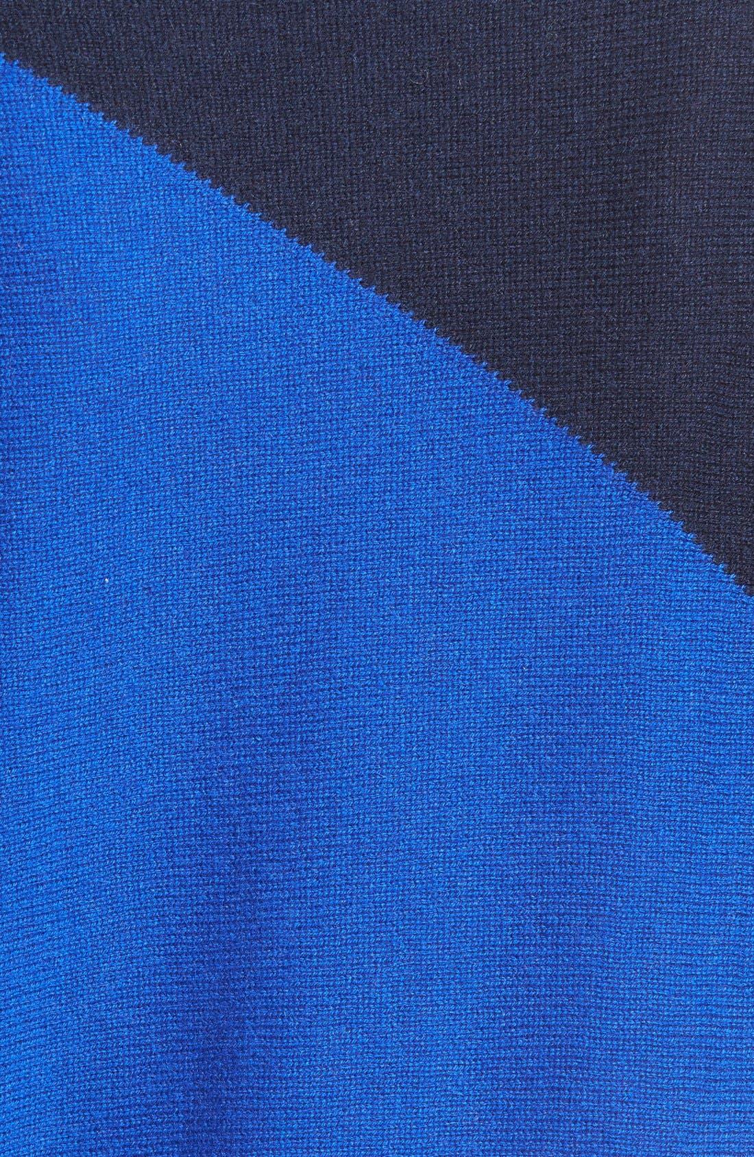 Alternate Image 3  - Halogen® Asymmetrical Wool & Cashmere Sweater