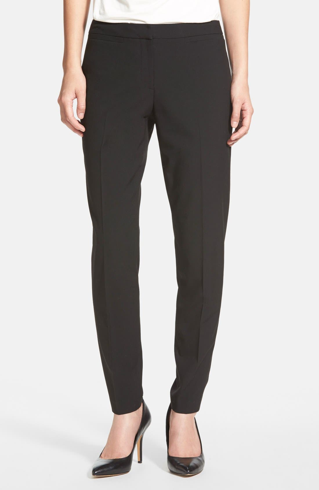 Main Image - Halogen® 'Taylor' Ankle Skinny Pants (Regular & Petite)