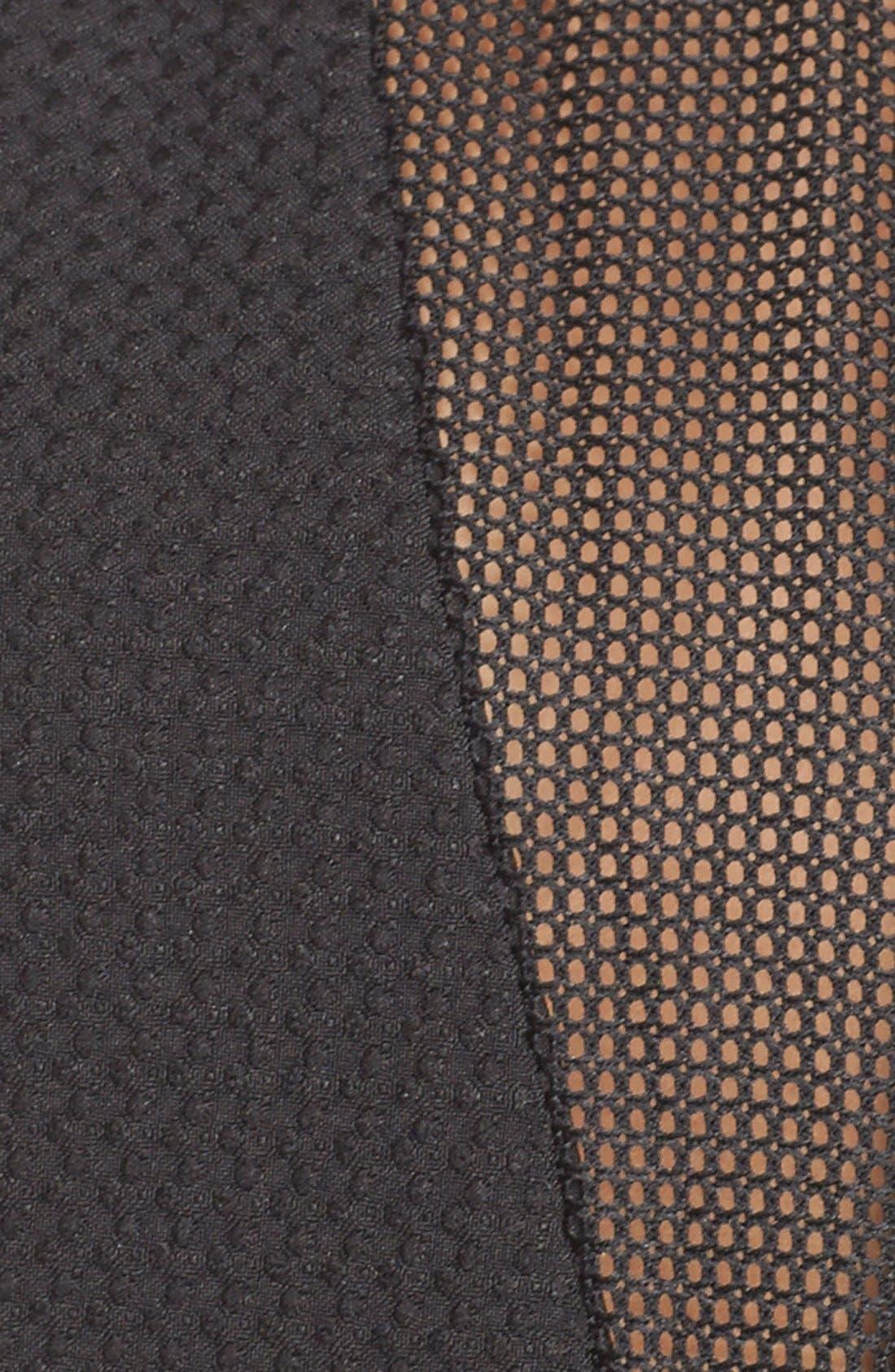 Alternate Image 4  - Elliatt'Attractions' Tiered Mesh Fit & Flare Dress