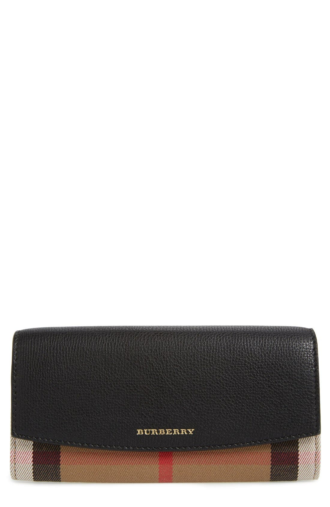 Alternate Image 1 Selected - Burberry 'Porter' Continental Wallet