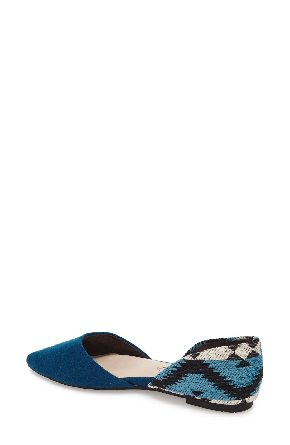 Alternate Image 2  - BC Footwear 'Society' d'Orsay Flat (Women)