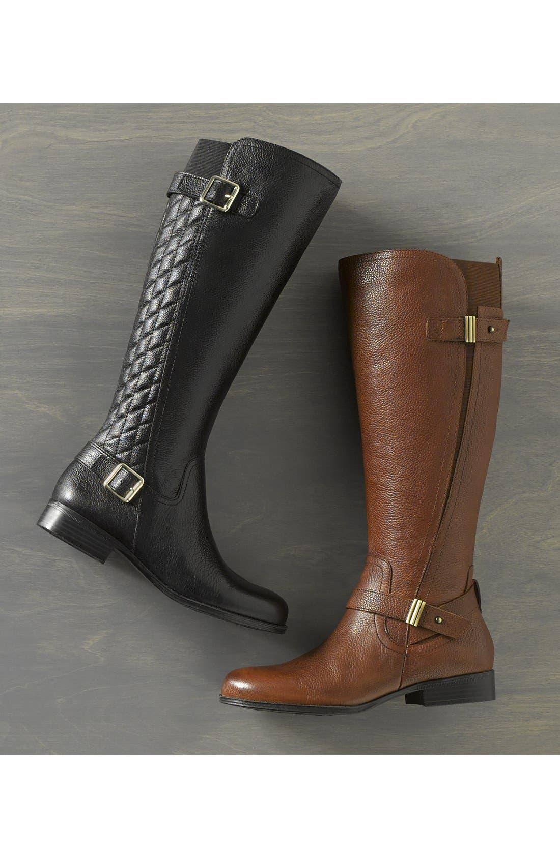Alternate Image 6  - Naturalizer 'Joan' Riding Boot (Women) (Wide Calf)