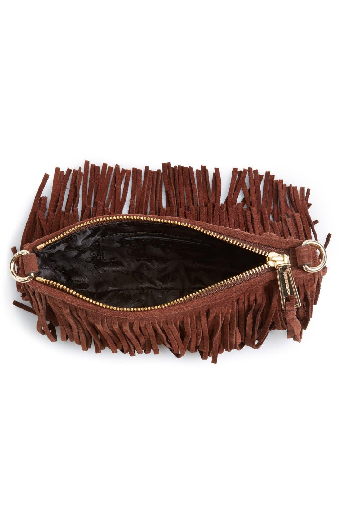 Alternate Image 4  - Rebecca Minkoff 'Finn' Convertible Leather Clutch