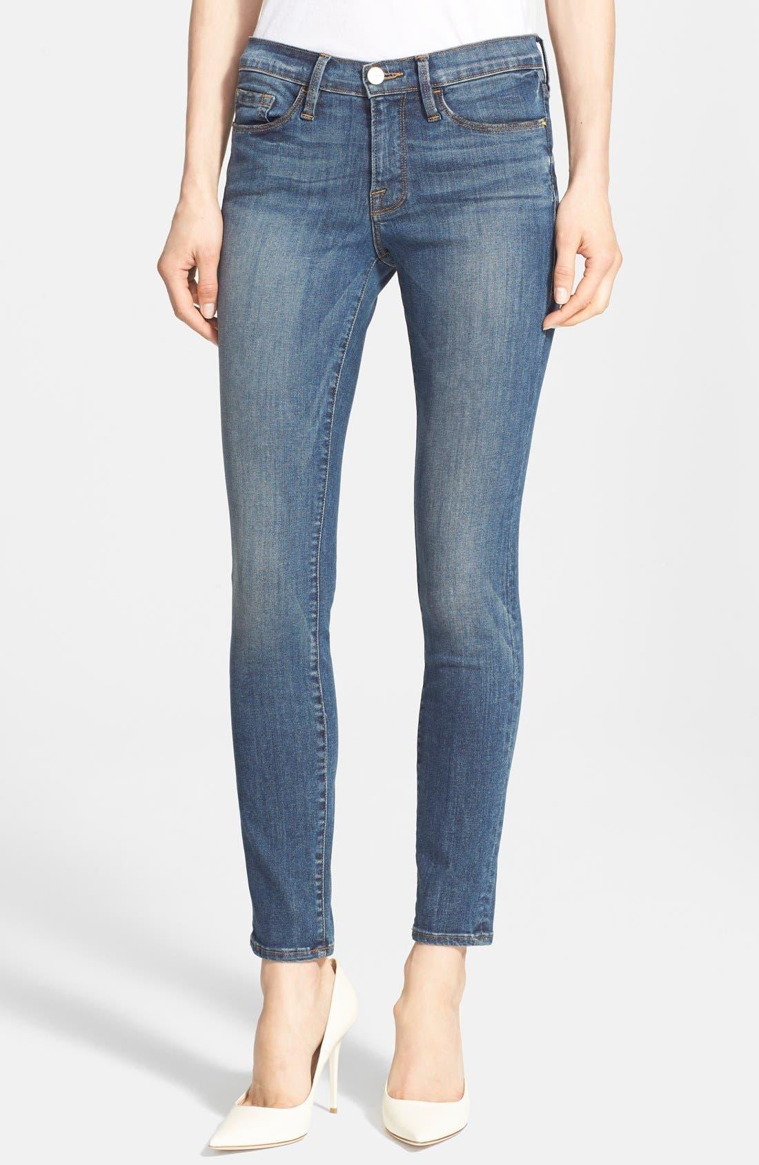 Alternate Image 1 Selected - Frame Denim 'Le Skinny de Jeanne' Jeans