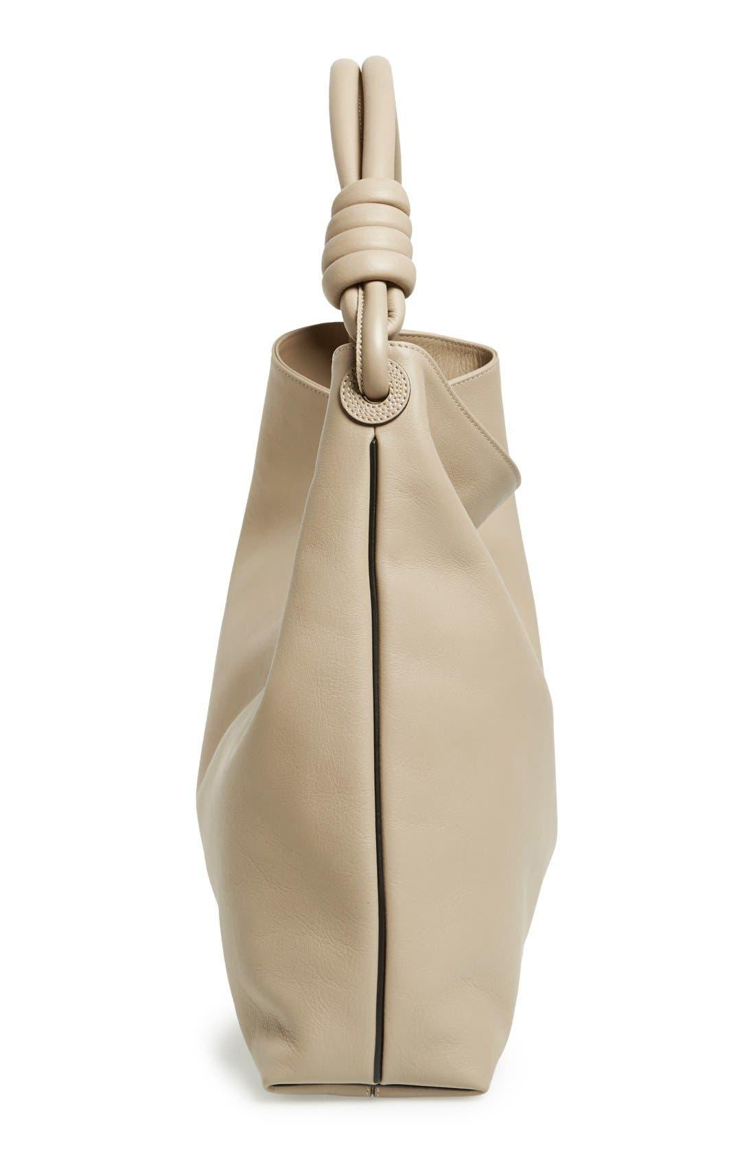 Alternate Image 4  - Loewe 'Large Flamenco' Calfskin Leather Hobo