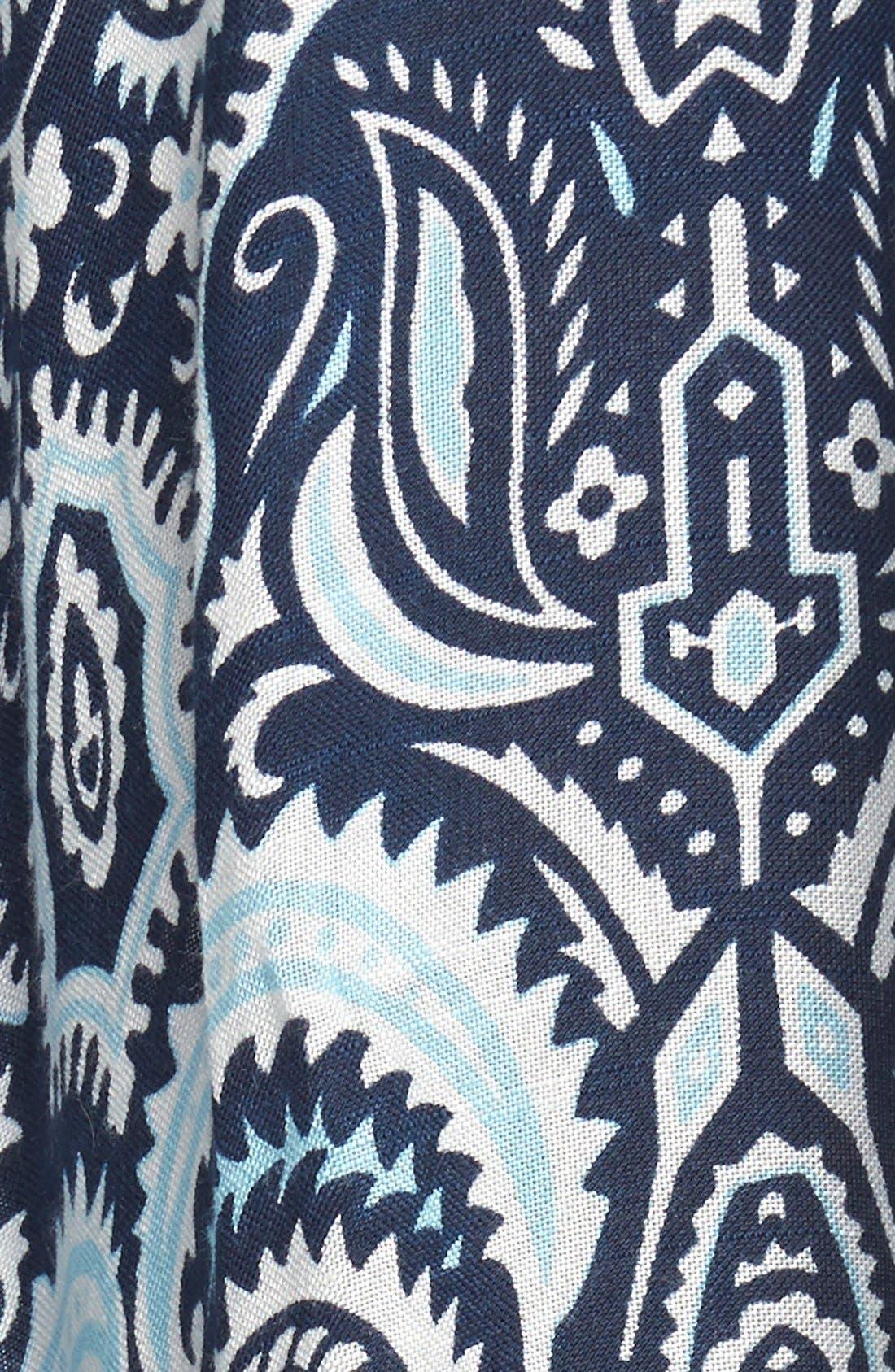 Alternate Image 4  - Jules Smith 'Persian Paisley' Cape