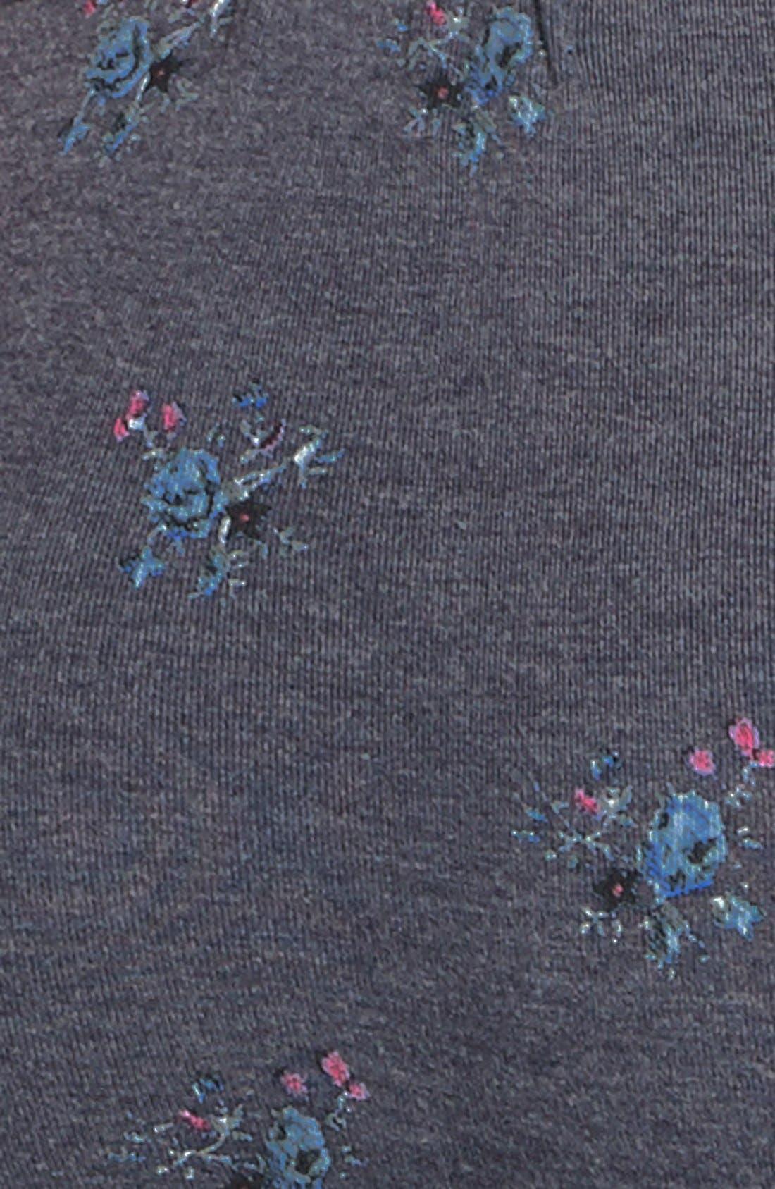 Alternate Image 3  - Wildfox 'Lazy' Floral Print Lounge Pants