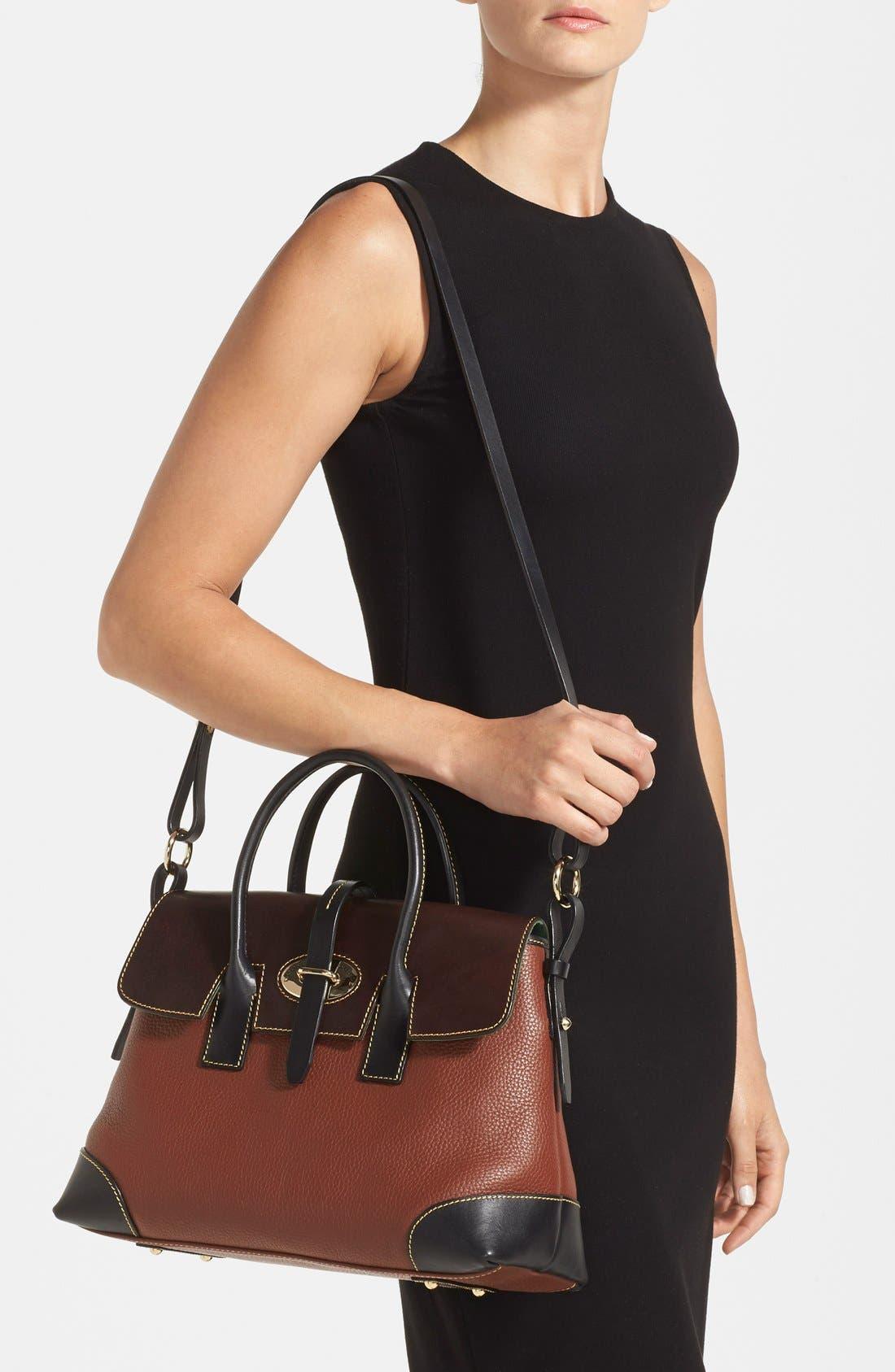 Alternate Image 2  - Dooney & Bourke 'Verona Large Elisa' Grained Leather Satchel