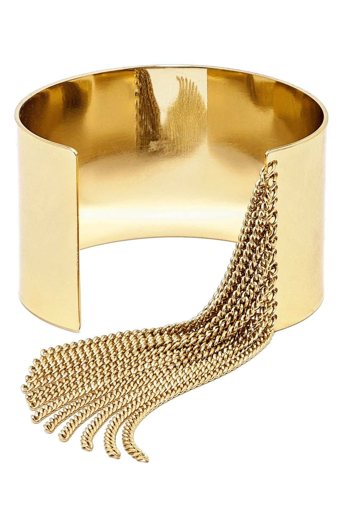 Alternate Image 1 Selected - BaubleBar'Cowgirl' Cuff Bracelet