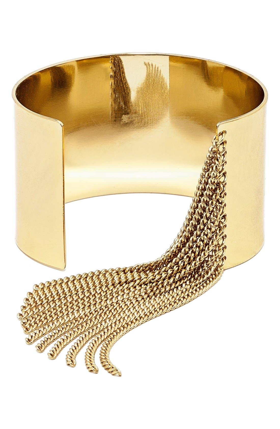 Main Image - BaubleBar'Cowgirl' Cuff Bracelet