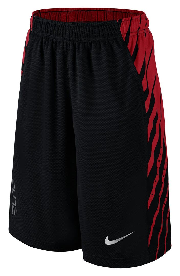 Nike 'Elite Powerup' Dri-FIT Athletic Shorts (Little Boys ...