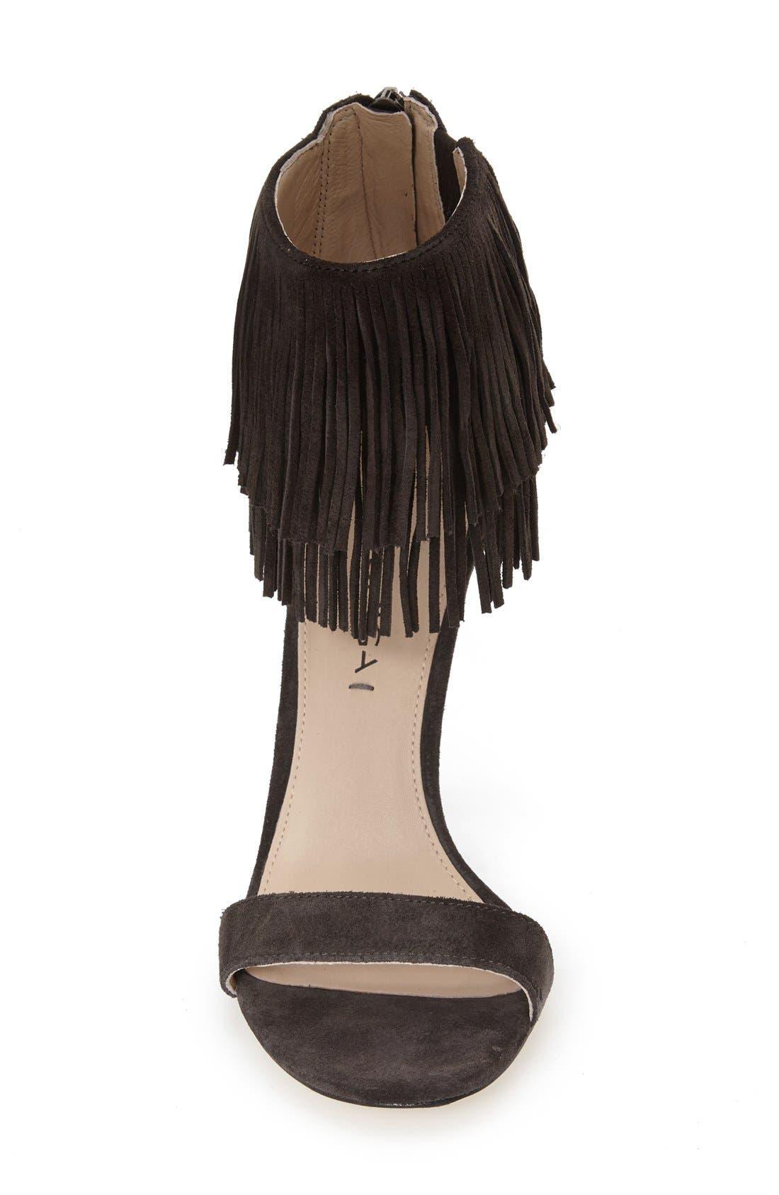 Alternate Image 3  - Via Spiga 'Tabia' Fringe Sandal (Women)
