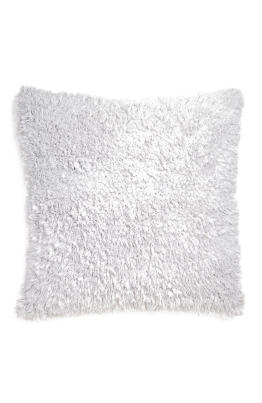 NORDSTROM AT HOME Shaggy Plush Pillow