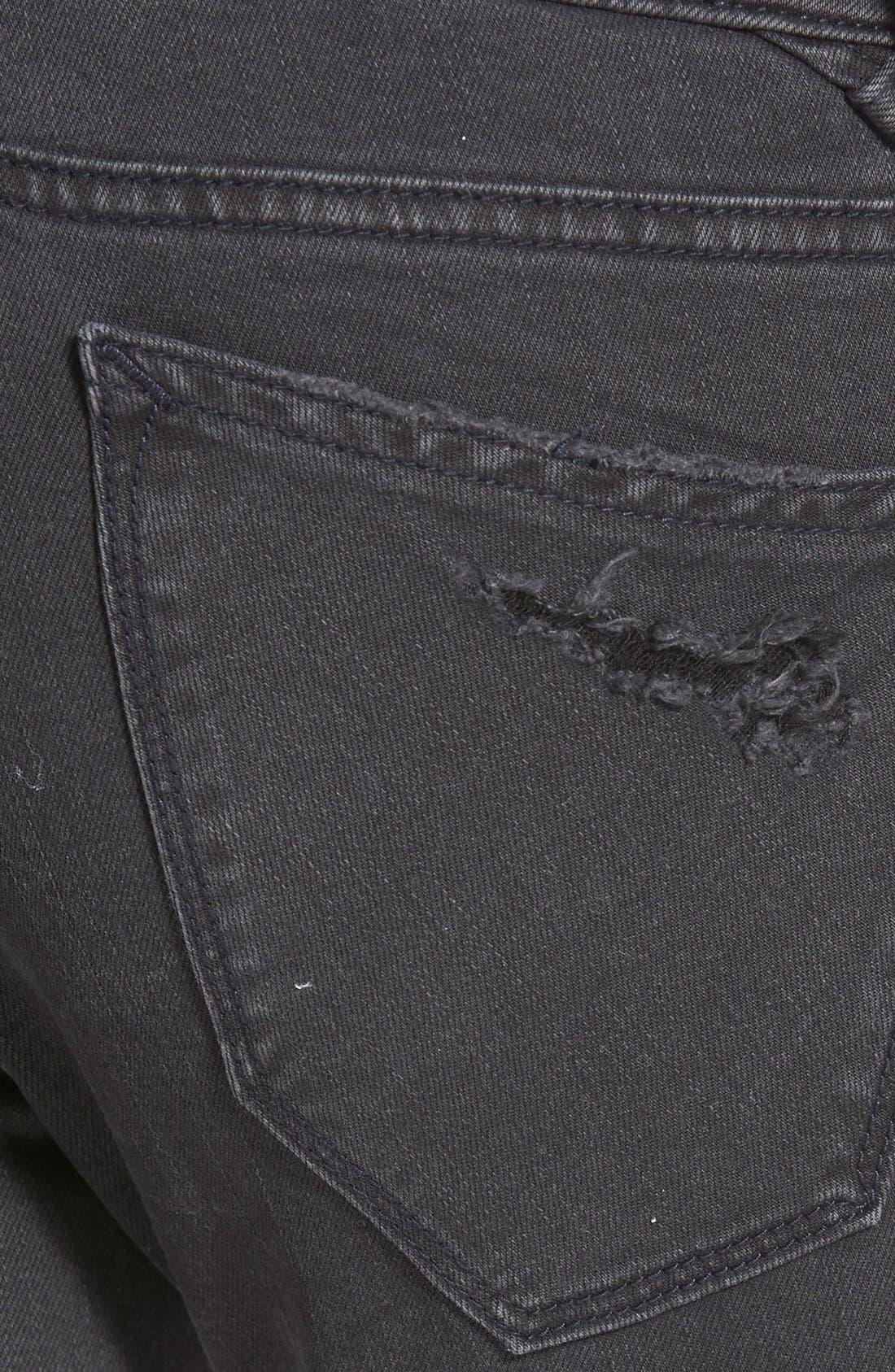 Alternate Image 4  - Vigoss 'Tomboy' Destroyed Jeans