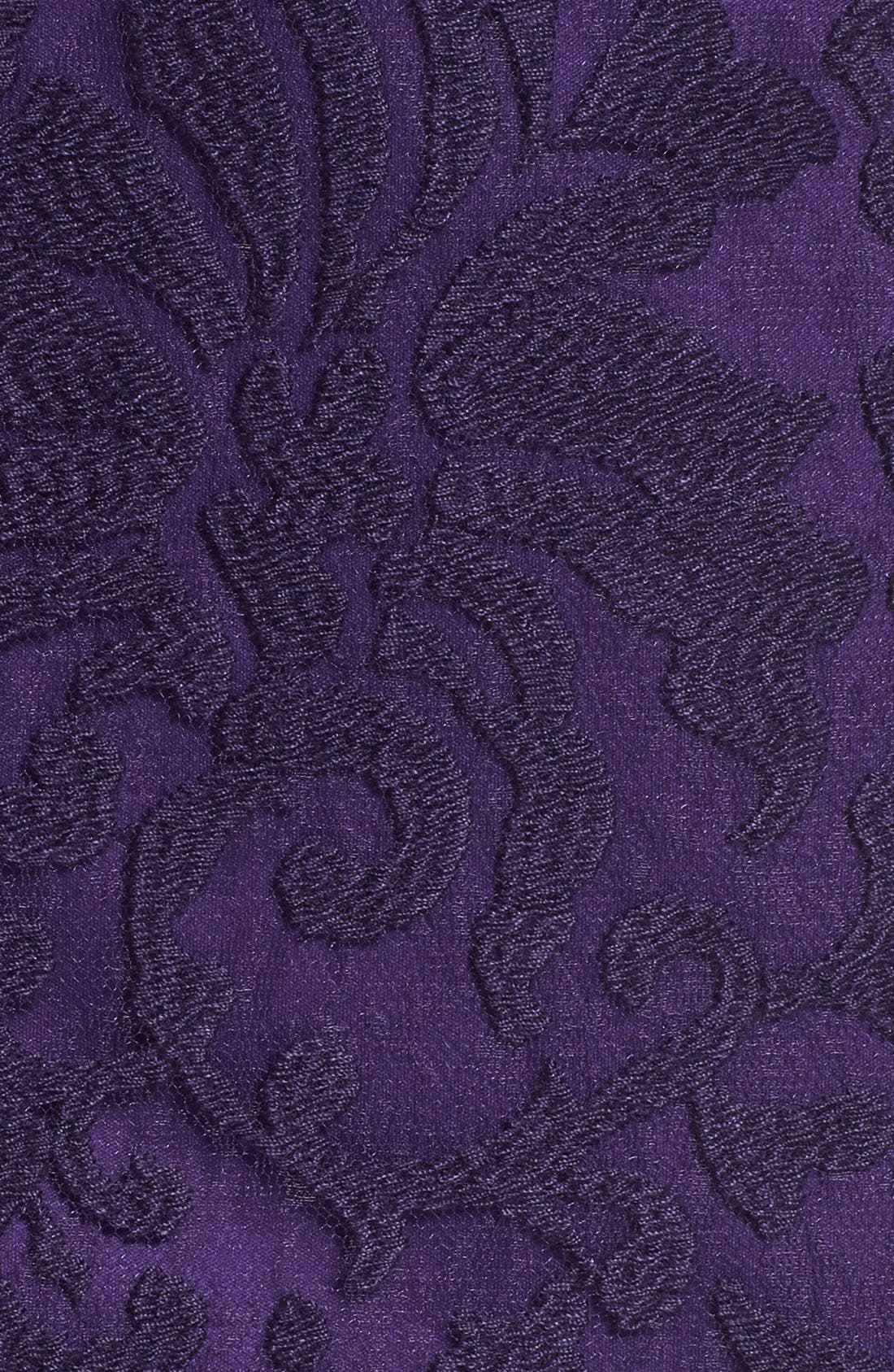 Alternate Image 6  - Tadashi Shoji Embroidered Lace Sheath Dress (Regular & Petite)