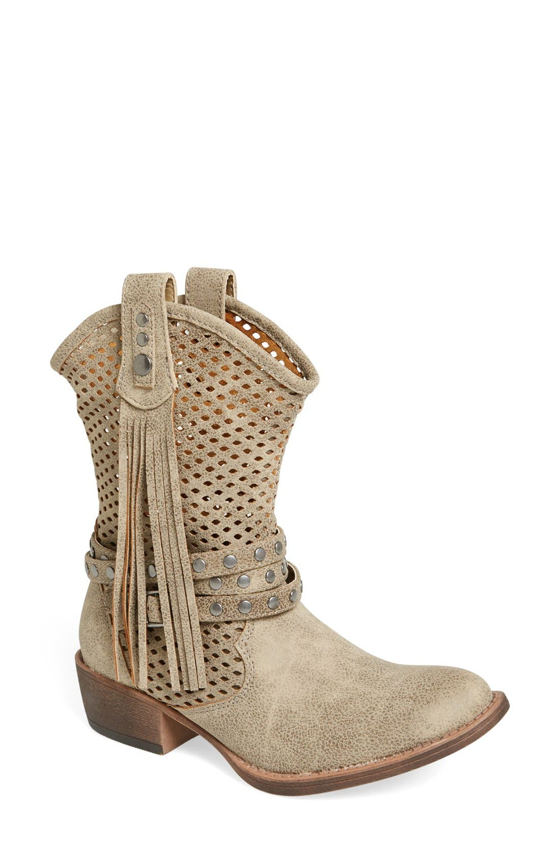 Alternate Image 1 Selected - Coconuts by Matisse 'Rawhide' Slouchy Western Boot (Women)