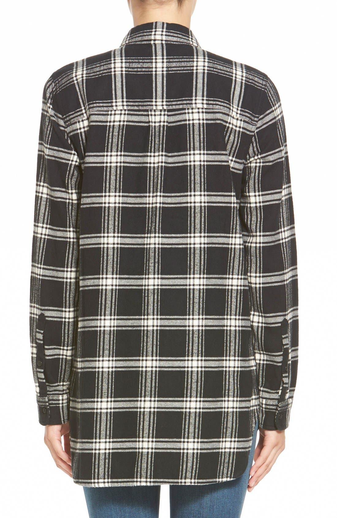 Alternate Image 3  - Madewell'Rutherford Plaid' Flannel Ex-Boyfriend Shirt