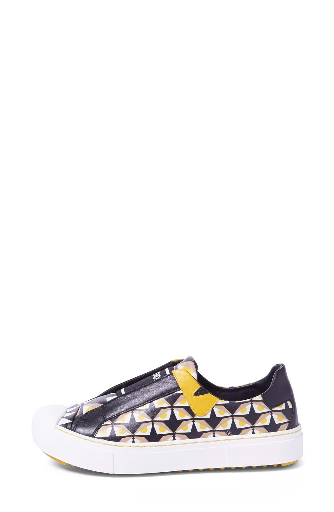 Alternate Image 4  - Fendi 'Bugs' Slip-On Sneaker (Women)