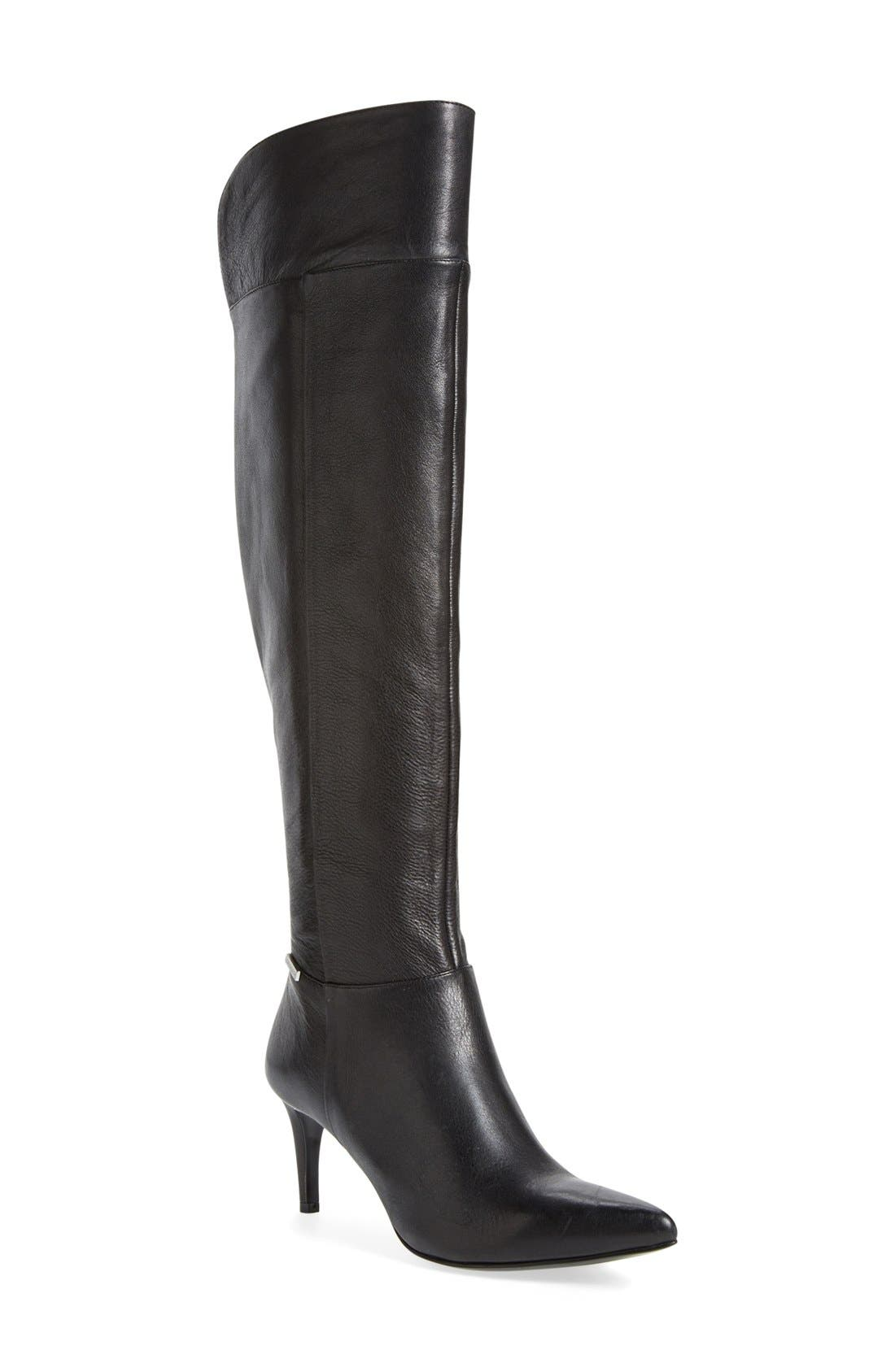 Alternate Image 1 Selected - Calvin Klein 'Clancey' Over the Knee Boot (Women)