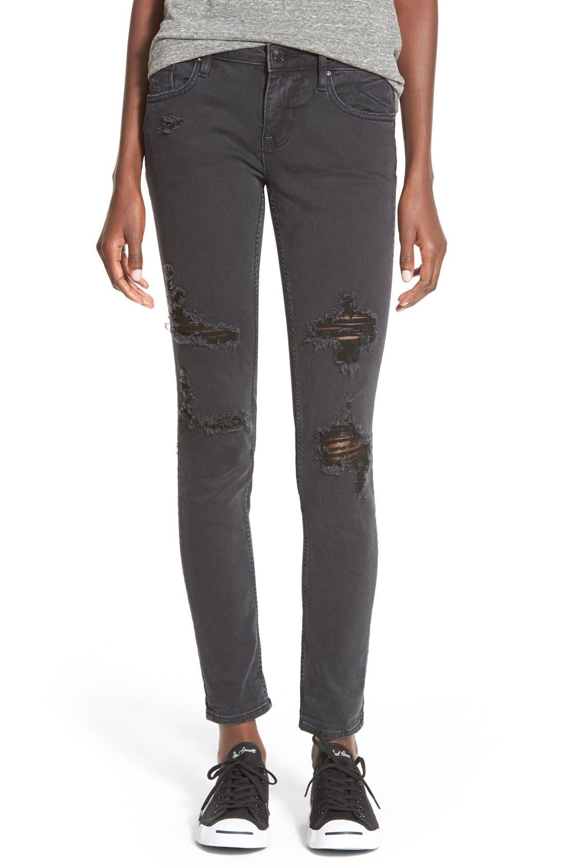 Alternate Image 1 Selected - Vigoss 'Tomboy' Destroyed Jeans