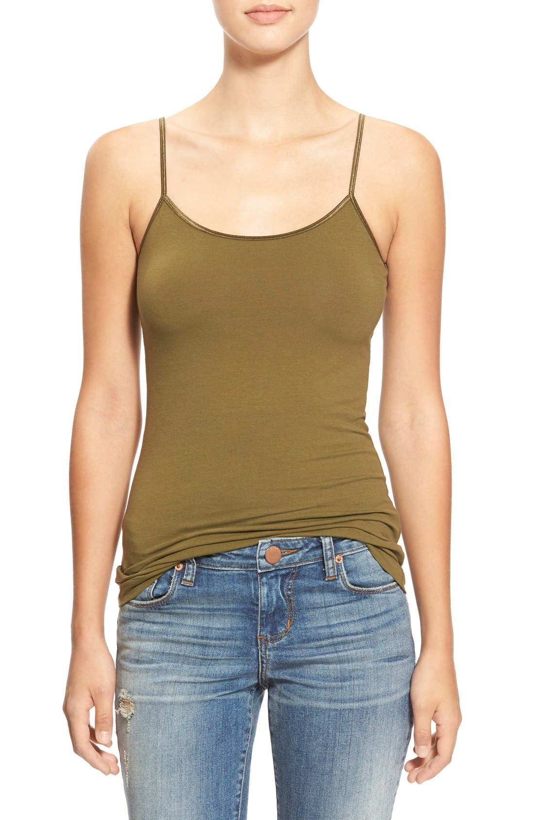 Alternate Image 1 Selected - BP. Stretch Camisole