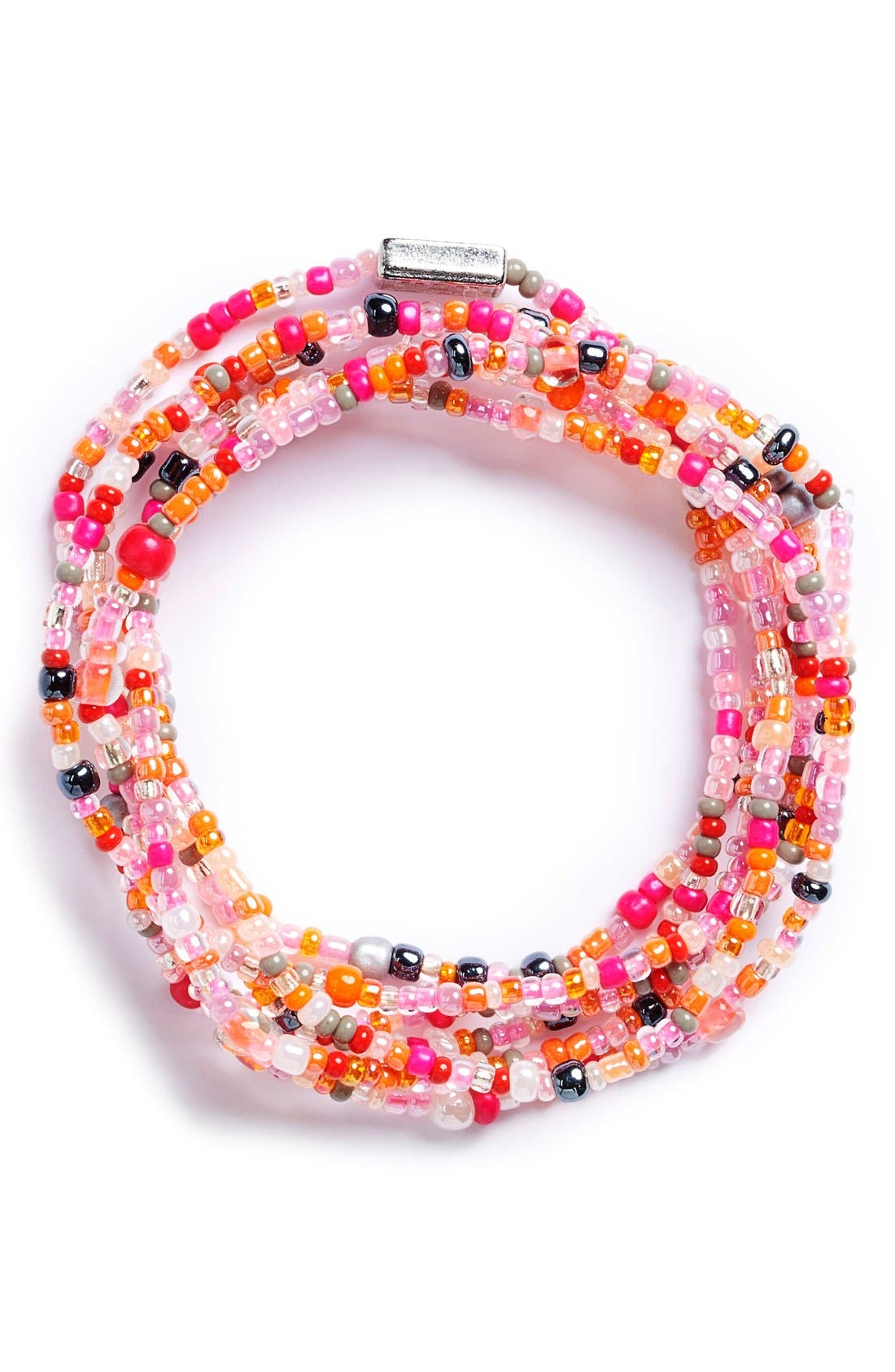Main Image - Me to We 'Rafiki - Health' Beaded Convertible Bracelet